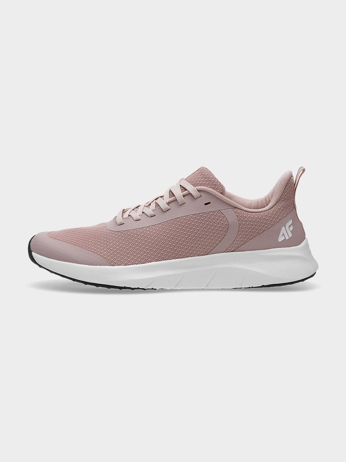 Levně Dámské sportovní boty - prášek růžový