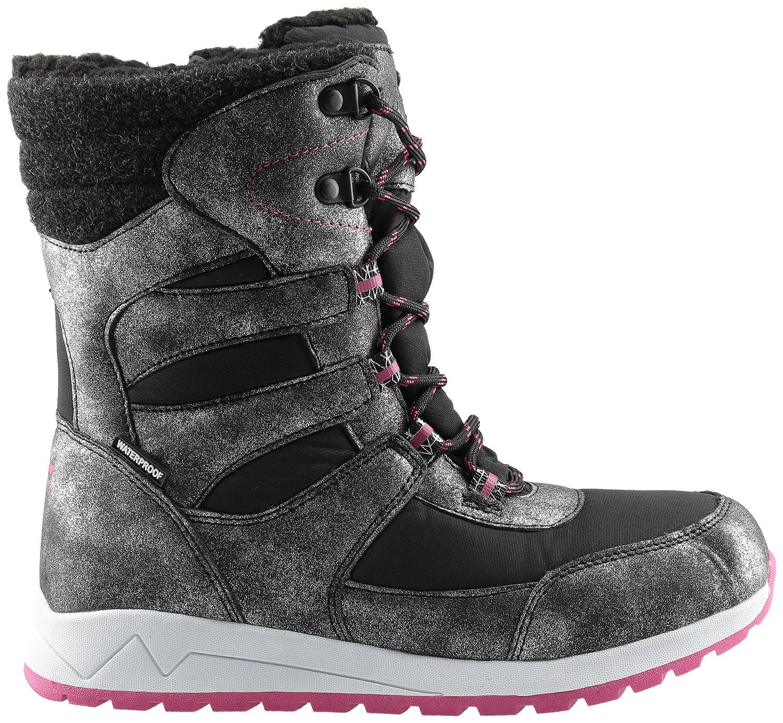Zimní boty pro starší děti (holky) JOBDW404 – černé