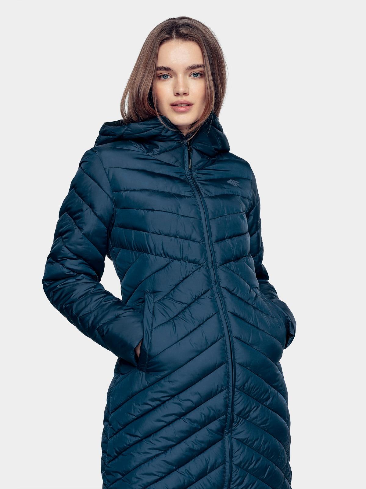 Dámský péřový kabát