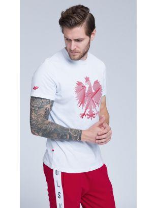 Koszulka kibica męska TSM500 - biały