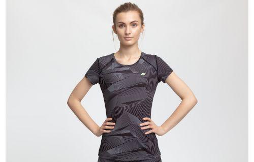 Dámské tréninkové tričko TSDF205 - multibarvevné allover