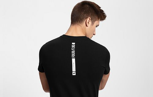 Pánské tričko TSM207 - hluboce černé