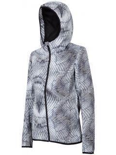 Městská bunda dámská KUD005 - šedá allover