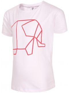 Tričko pro mladší holky  JTSD102B - bílá