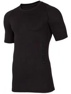 Pánské tréninkové tričko TSMF401 - černá