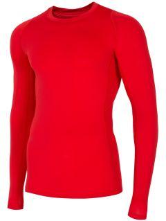 Pánský tréninkový longsleeve TSMLF401 - červená