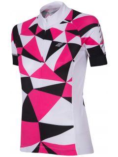 Dámské cyklistické tricko  RKD153 -  růžový