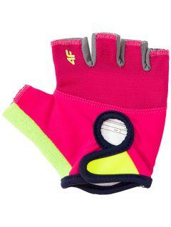 cyklistické rukavice pro starší dívky JRRD206 - VÍCEBAREVNÝ