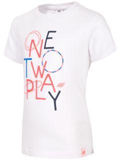 Tričko pro mladé dívky JTSD108 - bílá