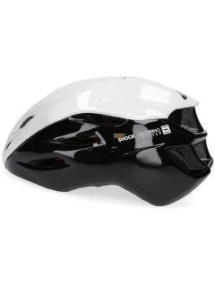 Cyklistická helma unisex KSR200 - černý&bílý