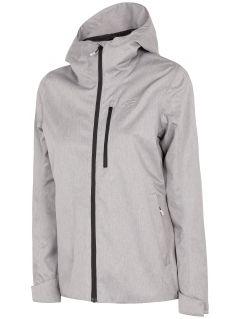 Dámská městská bunda KUD240 - chladný světle šedý melír