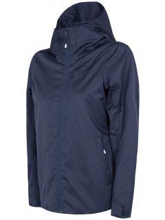 Dámská městská bunda KUD240 - tmavě modrý melír