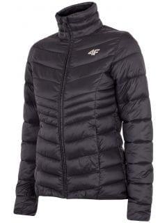 Dámská péřová bunda KUDP300 - hluboce černá