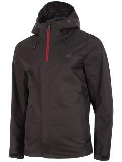 Pánská městská bunda KUM300 - hluboce černá