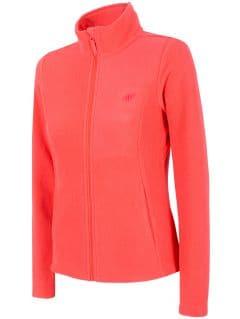 Dámský fleece PLD300 - neonově červený