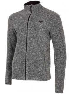 Pánský fleece PLM300 - středně šedý melír