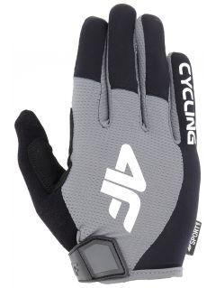 Cyklistické rukavičky unisex RRU207 - středně šedé