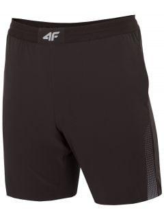 Pánské tréninkové šortky SKMF273 - hluboce černé