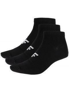 Pánské ponožky SOM302 - hluboce černé+hluboce černé+hluboce čer