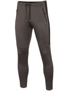 Pánské tréninkové kalhoty SPMTR272 - středně šedé