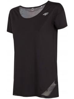 Dámské tréninkové tričko TSDF304 - hluboce černé