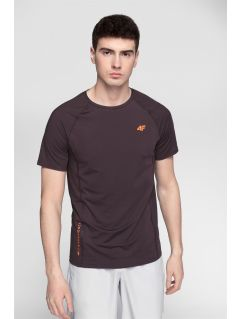 Pánské tréninkové tričko TSMF273 – burgundské