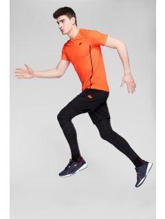 Pánské tréninkové tričko TSMF273 – oranžové