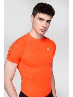 Pánské tréninkové tričko TSMF275 - oranžový melír