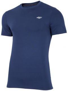 Pánské tréninkové tričko TSMF300 - tmavě modré