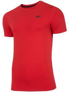 Pánské tréninkové tričko TSMF300 – červené