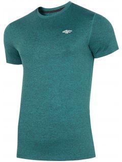 Pánské tréninkové tričko TSMF301 - mořský zelený melír