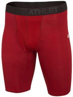 Pánské tréninkové prádlo BIMF302 - červený melír