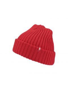 Dámská čepice CAD250 – červená