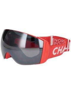 Dámské lyžařské brýle GGD251 - neonově červené