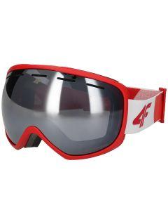 Pánské lyžařské brýle GGM250 – červené