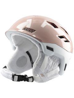 Dámská lyžařská helma KSD151 - pudrově korálová