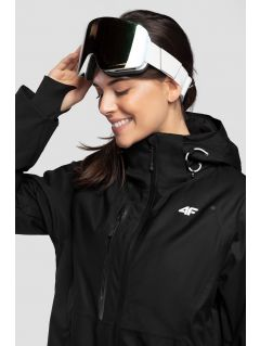 Dámská lyžařská bunda KUDN206 - hluboce černá