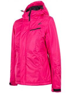 Dámská lyžařská bunda KUDN253 – růžová