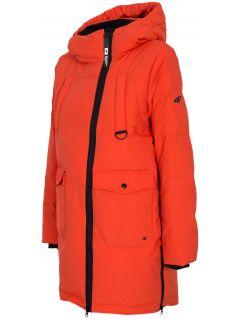 Dámská péřová bunda KUDP216– červená