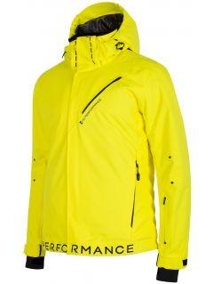 Pánská lyžařská bunda KUMN154 – žlutá