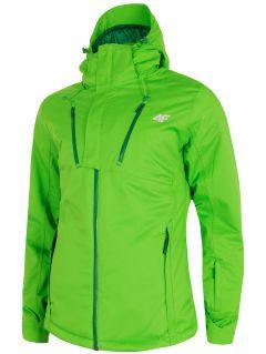 Pánská lyžařská bunda KUMN254 - světle zelená