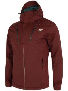 Pánská lyžařská bunda KUMN254 – burgundská