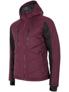 Pánská lyžařská bunda KUMN256 – burgundská