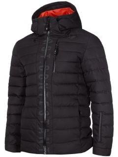 Pánská péřová bunda KUMP203 - hluboce černá