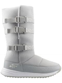 Dámské sněhové boty OBDH200 - šedé