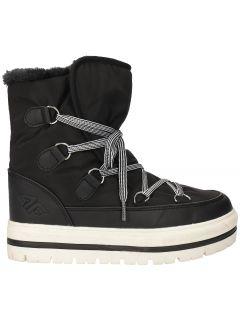 Dámské sněhové boty OBDH201 - černé