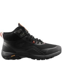 Pánské městské boty OBMH203 - hluboce černé