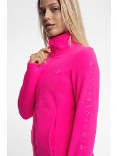 Dámský fleece PLD300 – růžový