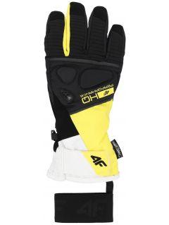 Dámské lyžařské rukavice RED150 – žluté