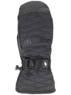 Dámské lyžařské rukavice RED250 - hluboce černé